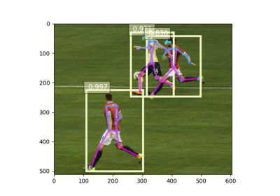 2. Predict with pre-trained AlphaPose Estimation models